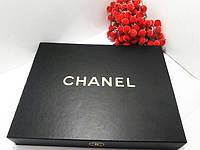 Подарочный набор от CHANEL ( тушь+подводка+помада+пудра ) черная коробка