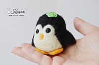 Пингвин (сухое валяние)