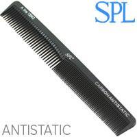 SPL Гребень Carbon 13543 для волос проф. Antistatic разнозубый