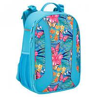 Рюкзак шкільний каркасний 703 Tropical flower
