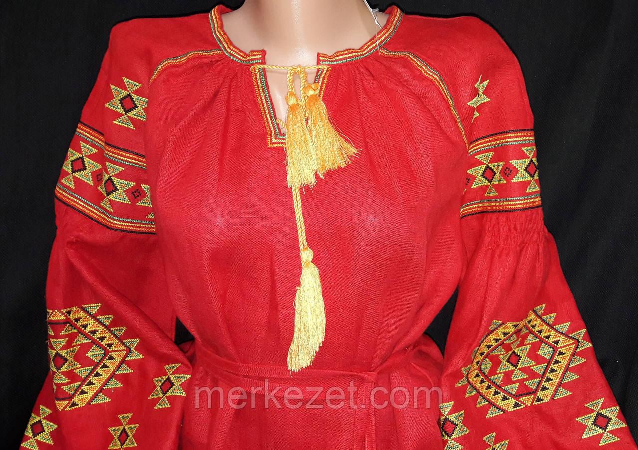 """Женские вышиванки. Блуза """"Красуня"""". Вышиванки на льне. Вышивка женская"""