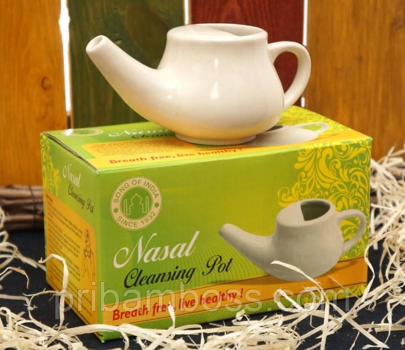 """Чайник для промывки носа керамический """"Neti pot"""""""