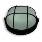 Светильник ЖКХ НПП 04 У-161 (метал/стекло) Антивандальный Чорный (диаметр 250 мм)