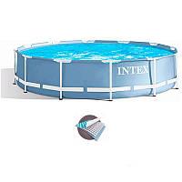Intex 26710/28710 Голубой (366-76 см.) Каркасные бассейны круглые