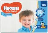 Подгузник ультра комфорт для мальчиков джамбо пачка 5 (12-22 кг) 42 штук