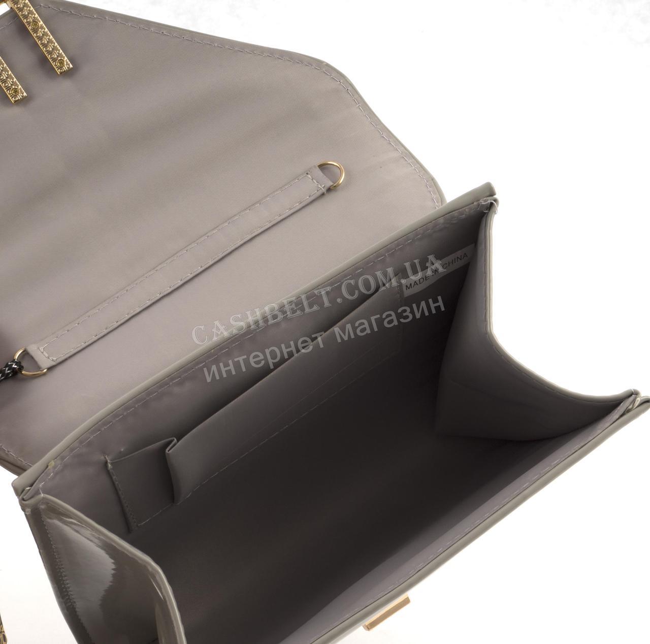 bbfe646172d7 Стильная элитная лаковая небольшая женская сумка клатч для выпускного art.