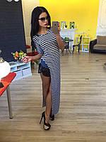 Платье длиное с вырезом, фото 1