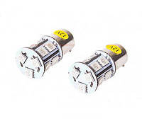 Лампы PULSO/габаритные/LED S25/BA15s/13 SMD-5050/12v/White/1 конт.