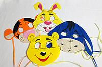 Набор маски для детских сюжетно ролевых игр. Винни Пух Дисней