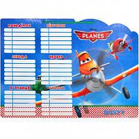 Расписание уроков картон на веревочке