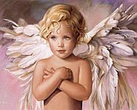 """Набор алмазной вышивки (мозаики) """"Голубоглазый ангел"""". Художник Nancy А. Noel"""