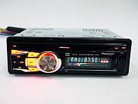 Автомагнитола с DVD приводом Pioneer 3218 USB+SD съемная панель