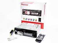Автомагнитола пионер Pioneer 3218 DVD USB+SD съемная панель, фото 6