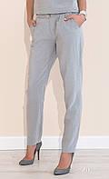 Женские летние брюки серого цвета Violet Zaps, коллекция весна-лето 2017.