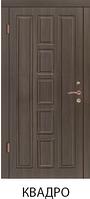 """Входная металлическая бронированная дверь  """"Портала"""" (серия Люкс Mottura) - модель Квадро"""