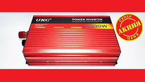 Преобразователь UKC 12V-220V 2500W авто инвертор с функцией плавного пуска. Хорошее качество. Код: КДН1787