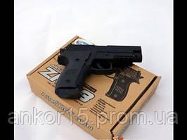 Дитячий ігровий металевий пістолет Zm03