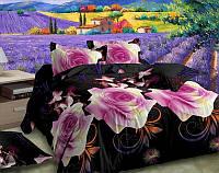 Постельное белье евро и двухспальное Розовые розы