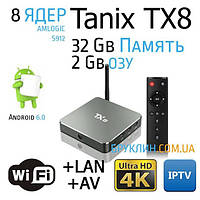 Приставка для телевизора Tanix TX5 2/8 Gb Смарт ТВ Андроид 6.0 / Smart Tv Android 6.0 Box Ultra Hd 4K