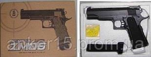 Дитячий металевий пістолет ZM05