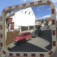 Дорожное сферическое зеркало безопасности MEGA 600*800
