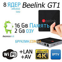 Beelink GT1 Ultimate 2/16 Gb Андроид Смарт ТВ Приставка / Smart Tv Android 6.0 Marshmallow Box Ultra Hd 4K