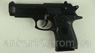 Пістолет дитячий пневматичний метал BERETTAU ZM21
