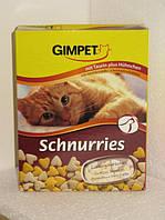 Gimpet Schnurries витамины для кошек с таурином и курочкой 650 шт (409351)
