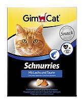 Gimpet Schnurries витамины для кошек с таурином и лососем 650 шт