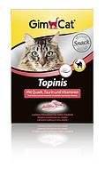 Gimpet Topinis витамины для кошек с творогом 220г