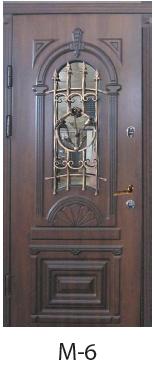 """Вхідні двері """"Порталу"""" (серія Еліт) модель М-6"""