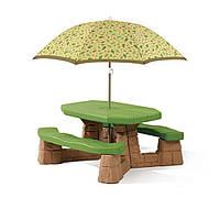 Столик для пикника Step2 8438 С зонтиком