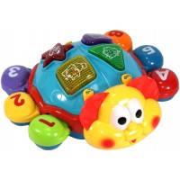 Музыкальная развивающая игрушка Танцующий жук Joy Toy 7013