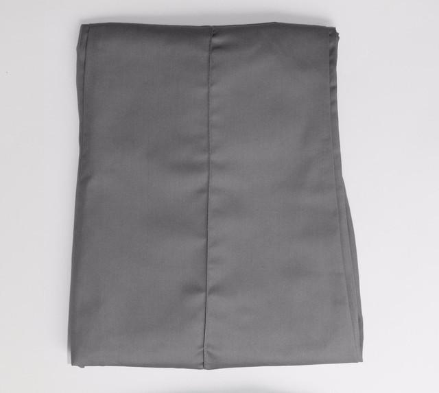 Качственные котоновые брюки серого цвета