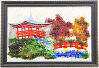 Картина фьюзинг Китай Пагода