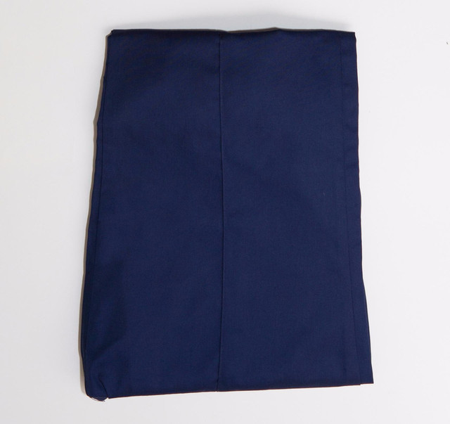 Класичиские медицинские котоновые брюки темно-синего цвета