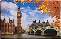 Картина-листовка Лондон, Биг-Бен