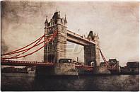 Картина-листовка Лондон, Тауэрский мост