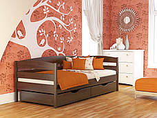 Кровать Нота Плюс (80*190) (Бук/Щит) (с доставкой), фото 2