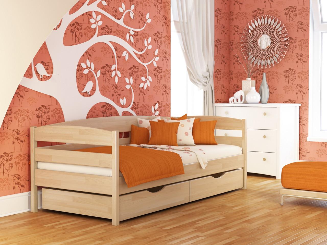 Кровать Нота Плюс (80*190) (Бук/Щит) (с доставкой)