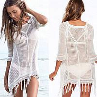Уценка! Пляжное платье - туника СС7016