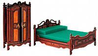 Спальня, Сборная модель из картона, Умная бумага