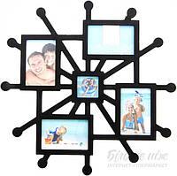Коллаж frame  BIN 053 BLACK Collag EVG