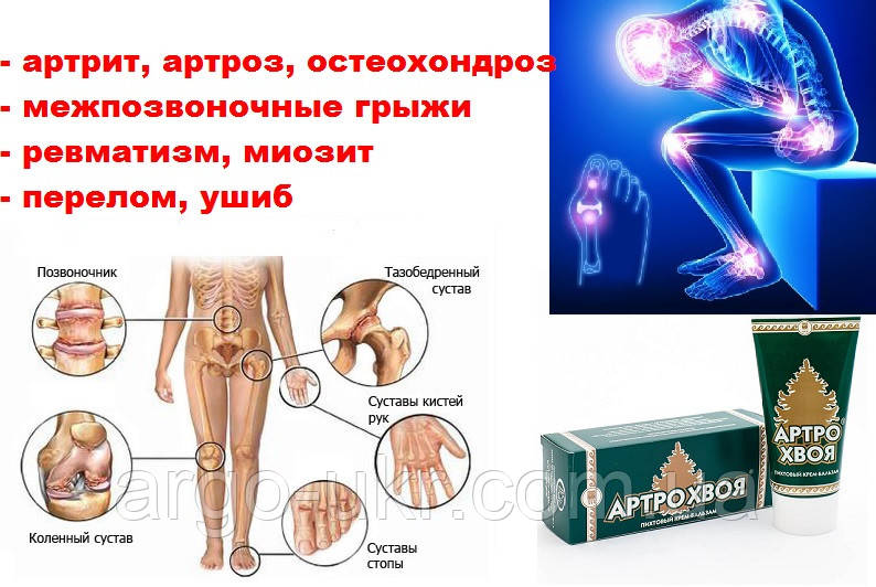 АРТРОХВОЯ ОРИГИНАЛ Арго (остеохондроз, подагра, миозит, невралгия ...