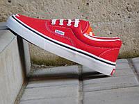 Подростковые кеды Vans, красные