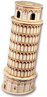 Трехмерная модель Пизанская башня мини, CubicFun