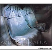 Одноразовые чехлы на сидения 200шт./рулон. TJG (Е4150)
