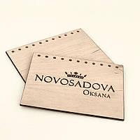 Обложка для блокнота деревянная индивидуальный дизайн