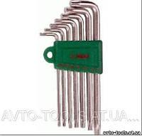 Инструмент HANS. Комплект угловых ключей TORX 7 пр.(с отверстием) (16754-7TH)