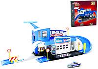 Игровой набор Majorette Полицейский участок с машинкой (2050012)